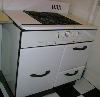Large Waterman kitchen stove
