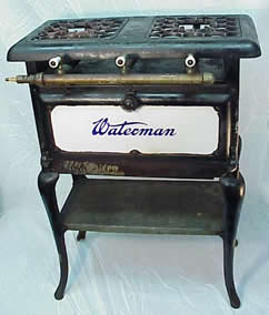 Waterman 2-burner stove